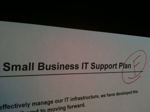 IT Support Plan F - small business