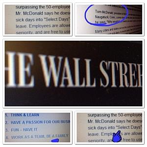 Wall Street Journal IT Support NSI