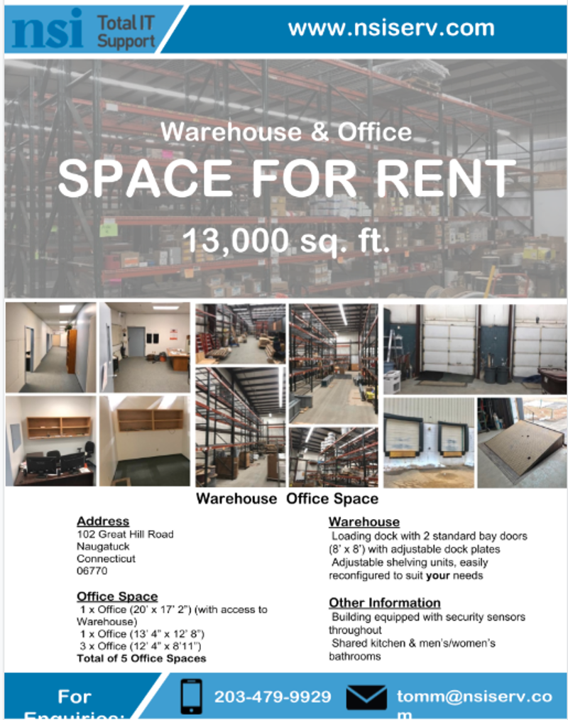 NSI Renting Office Space